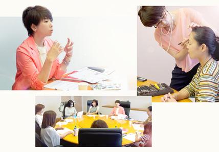 日本アンチエイジングダイエット入門講座風景